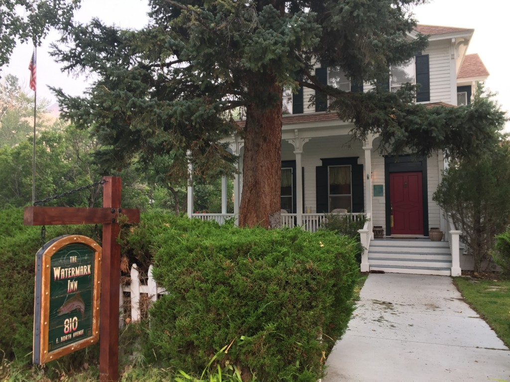 This Sept. 7, 2017 photo shows the Watermark Inn, a B&B in Challis, Idaho. The small town of Challis, population 1,000, is also home to the River of N...