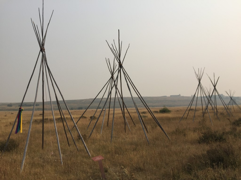 This Sept. 6, 2017 photo shows Big Hole National Battlefield in Wisdom, Montana. The park tells the story of how the U.S. Cavalry chased the Nez Perce...