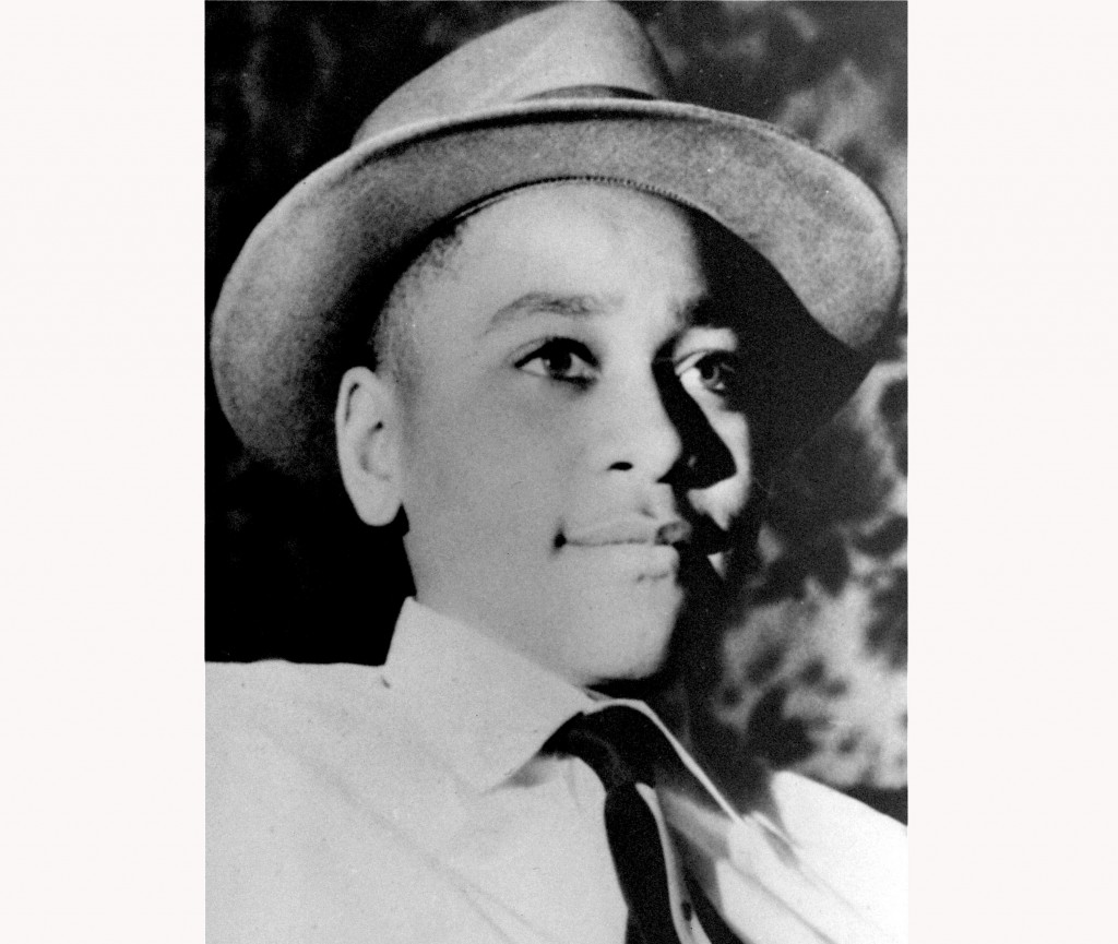 FILE - This undated photo shows Emmett Louis Till, a 14-year-old black Chicago boy, who was kidnapped, tortured and murdered in 1955 after he allegedl