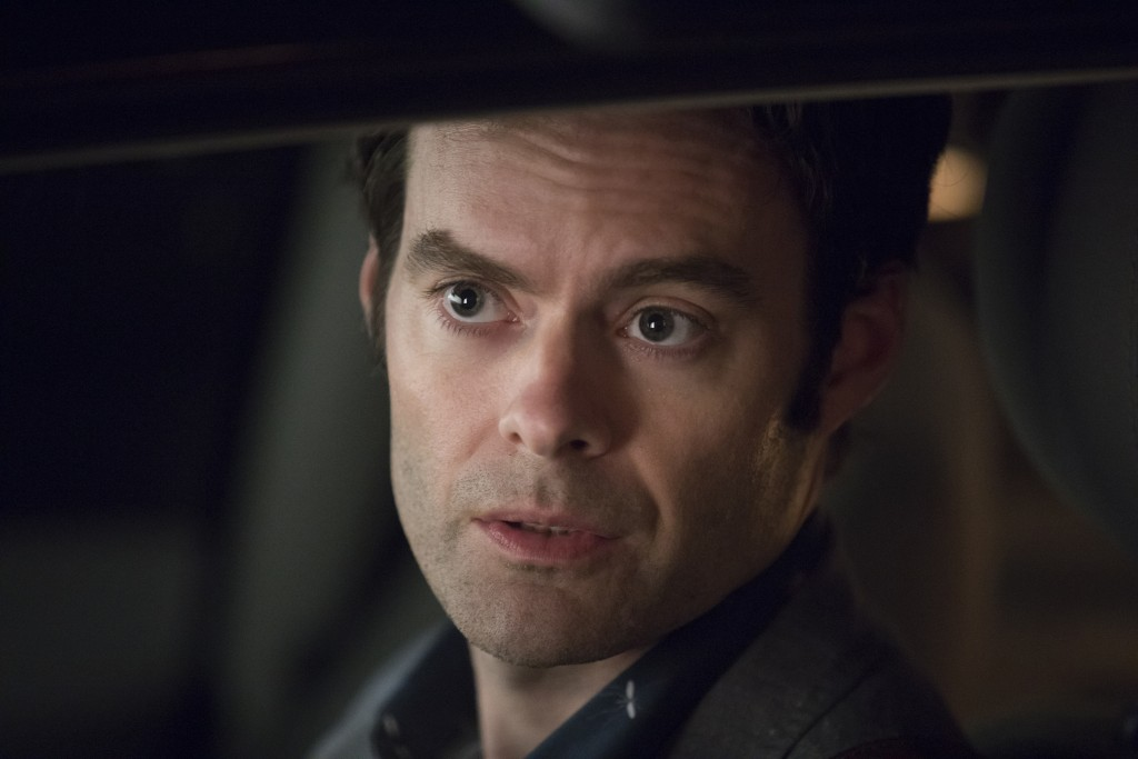"""This image released by HBO shows Bill Hader in a scene from """"Barry."""" Hader was nominated Thursday for an Emmy for outstanding lead actor in a comedy s"""