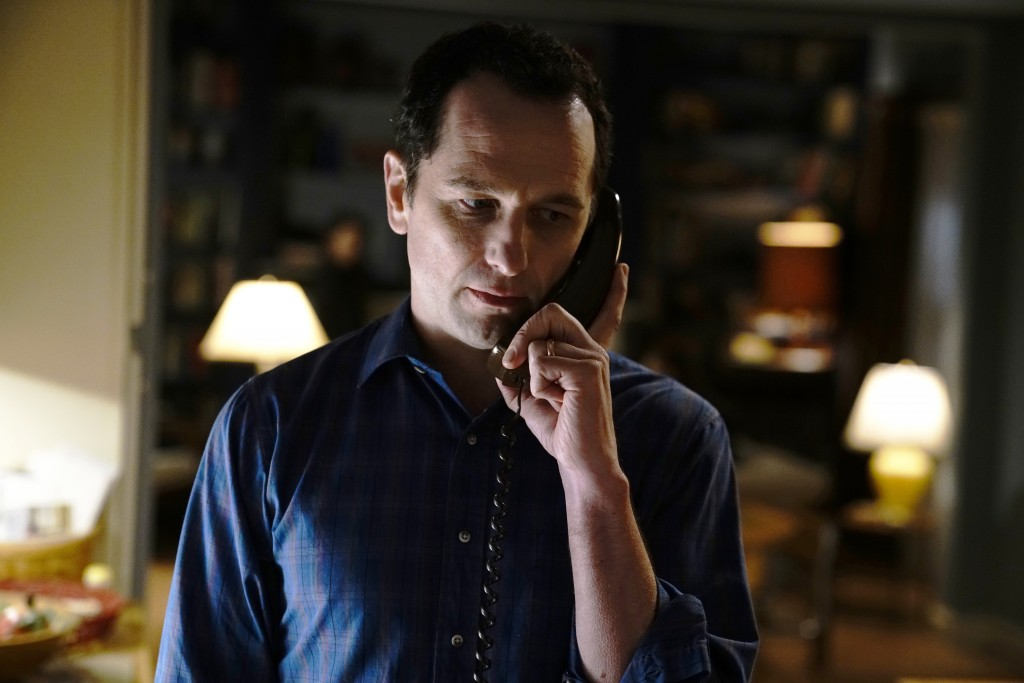 "This image released by FX shows Matthew Rhys in a scene from ""The Americans."" On Thursday, Dec. 6, 2018, Rhys was nominated for a Golden Globe award f"