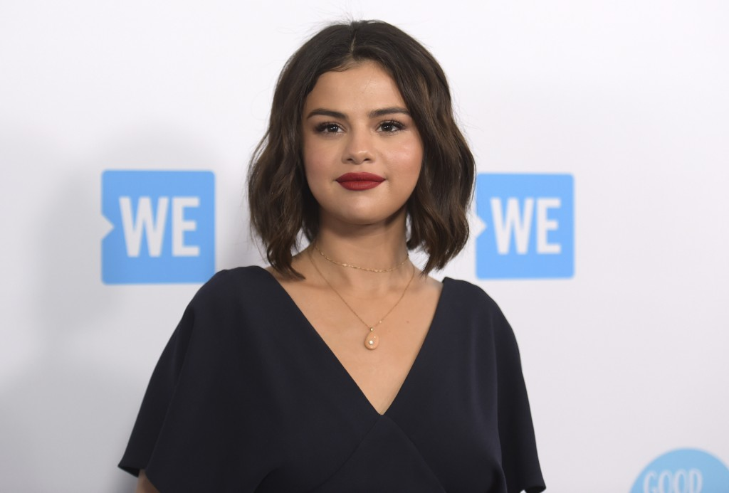 FILE - In this April 19, 2018 file photo, Selena Gomez arrives at WE Day California in Inglewood, Calif. Susan Antrach of Ridgefield Park, New Jersey