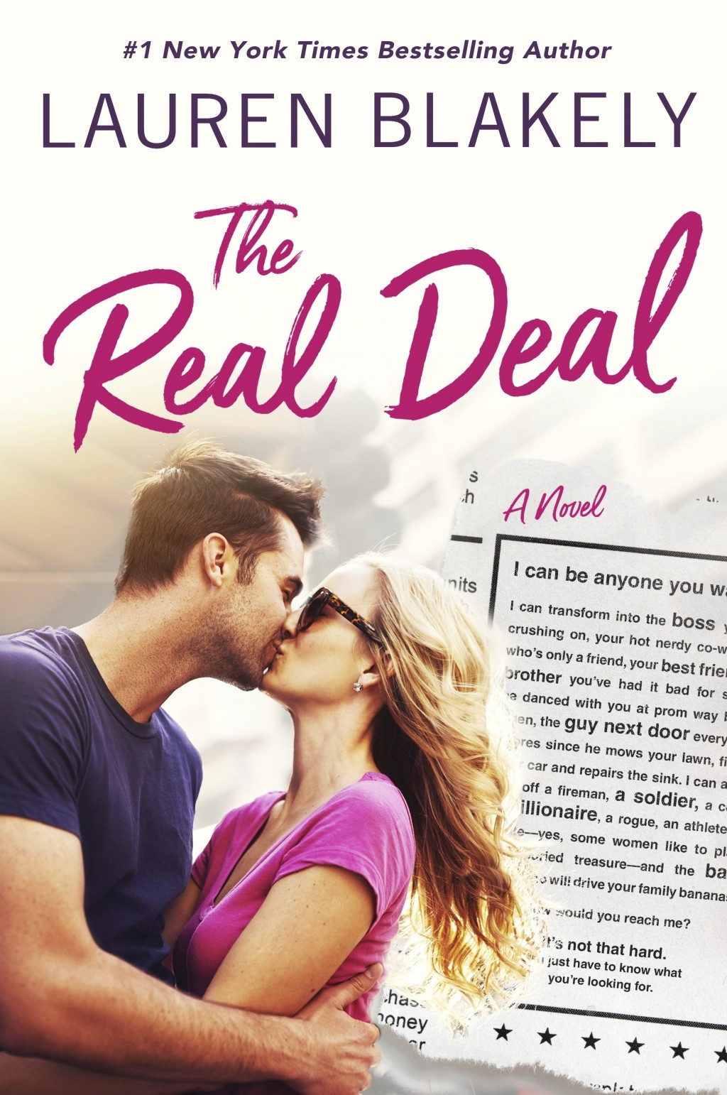 "This cover image released by St. Martin's Griffin shows ""The Real Deal,"" a novel by Lauren Blakely. (St. Martin's Griffin via AP)"