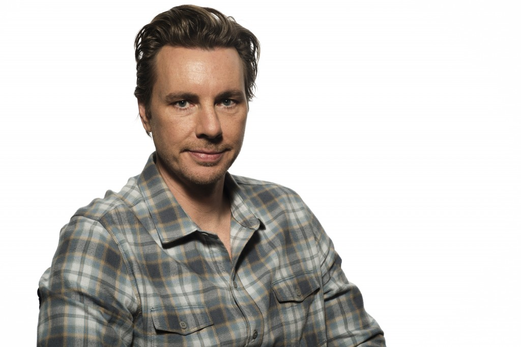 """FILE - In this March 11, 2017 file photo, Dax Shepard poses for a portrait -in West Hollywood, Calif. Shepard hosts a podcast called """"Armchair Expert...."""