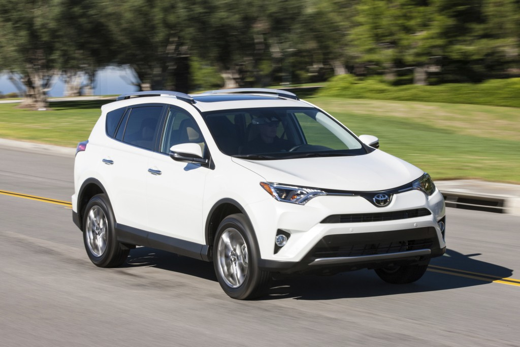 This Photo Provided By Toyota Shows The 2016 Rav4 A Fuel Sipping Crossover