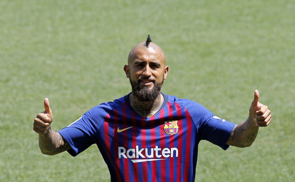 Arturo Vidal aims 'unfinished Champions League business' with Barcelona