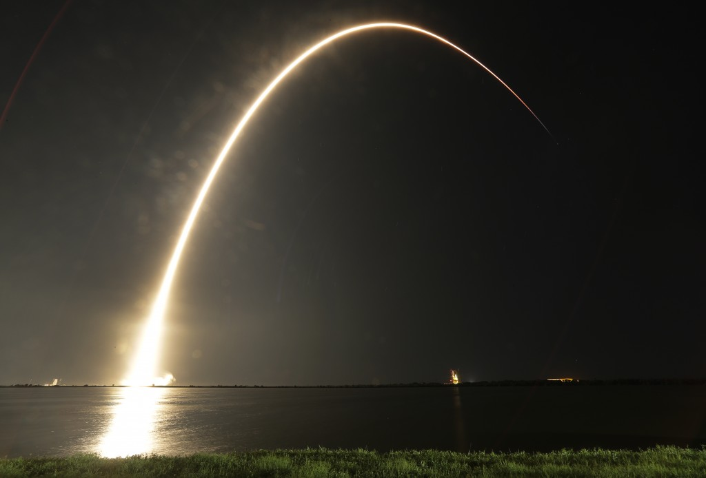 SpaceX relaunches the final Falcon 9 rocket design