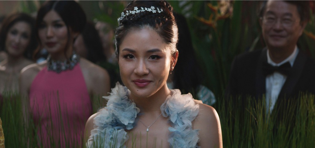 """This image released by Warner Bros. Entertainment shows Constance Wu in a scene from the film """"Crazy Rich Asians."""" (Warner Bros. Entertainment via AP)"""