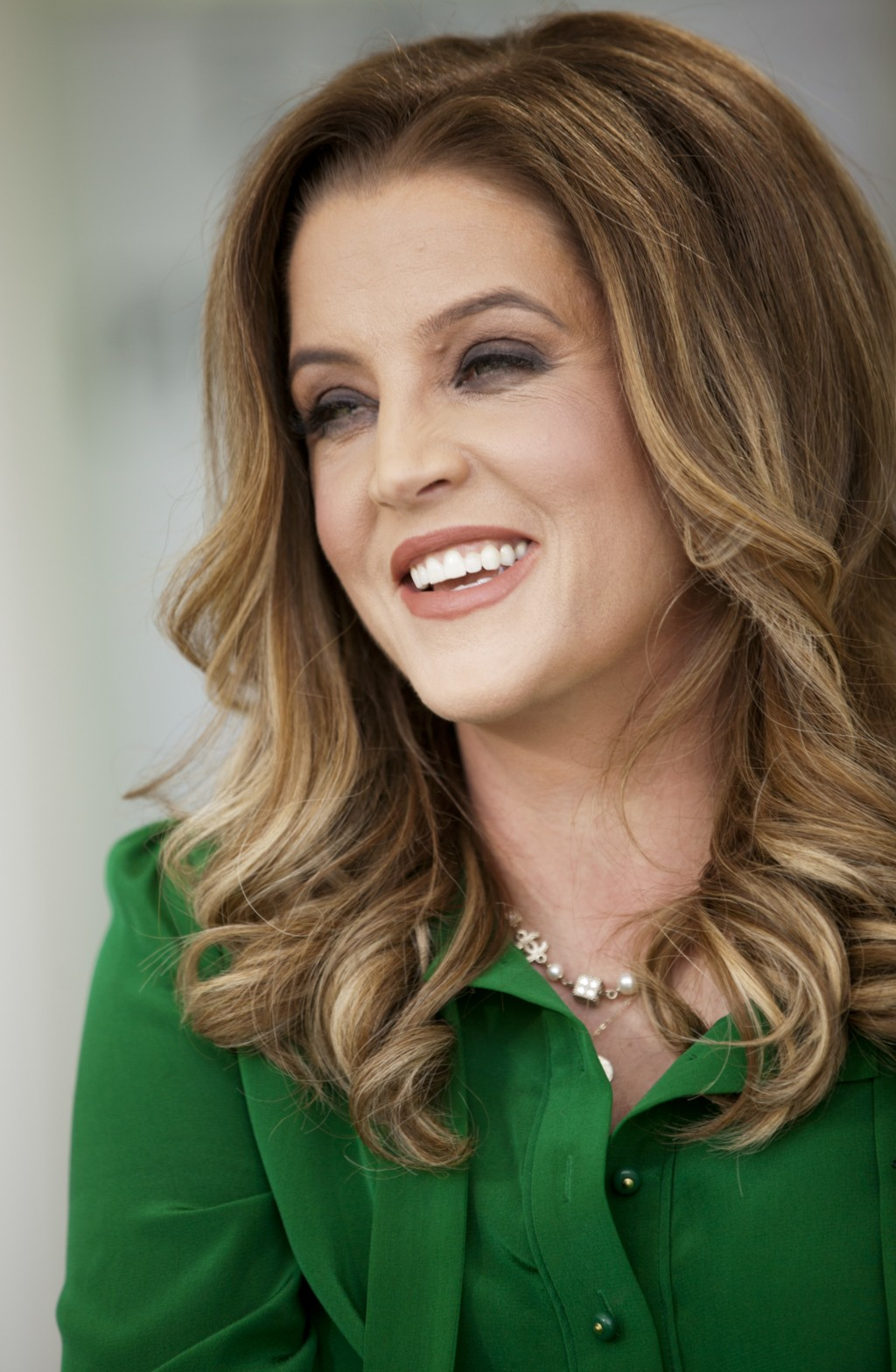 FILE - In this Thursday, May 10, 2012, file photo, singer Lisa Marie Presley poses for a photo in West Hollywood, Calif. An exhibit centered on the ca