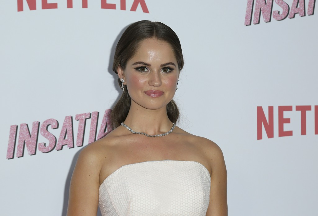 """Debby Ryan arrives at the LA Premiere of """"Insatiable"""" at the Arclight Hollywood on Thursday, Aug. 9, 2018, in Los Angeles. (Photo by Willy Sanjuan/Inv"""
