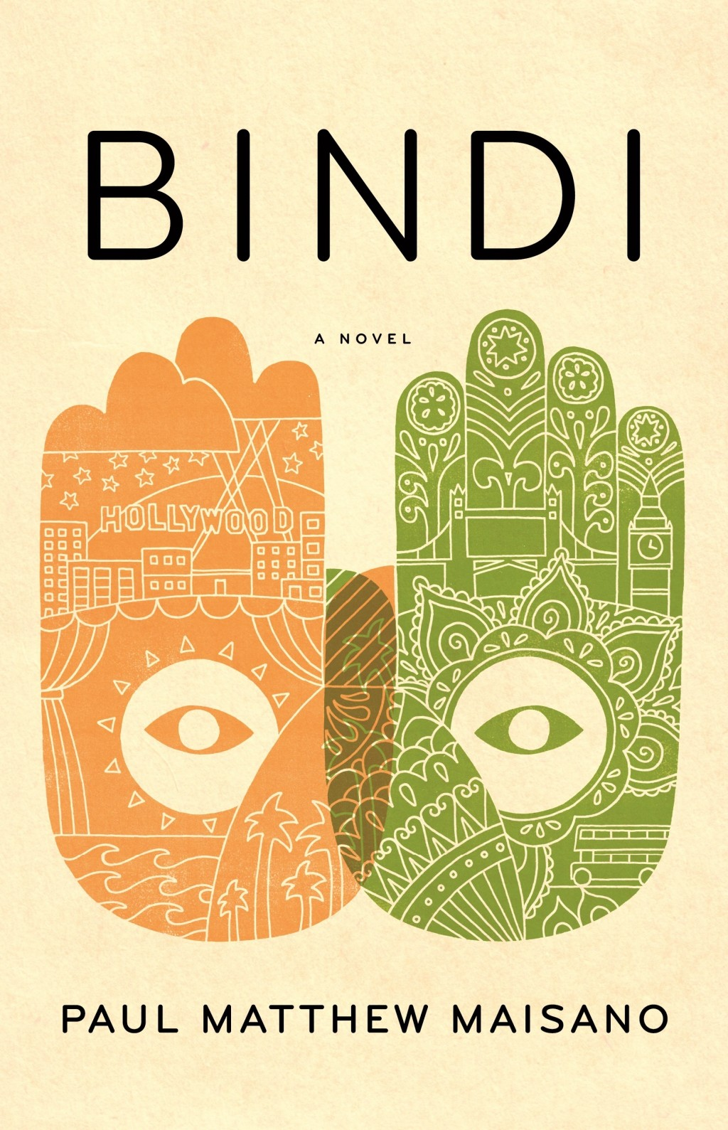 """This cover image released by Little, Brown and Company shows """"bindi,"""" a novel by Paul Matthew Maisano. (Little, Brown and Company via AP)"""