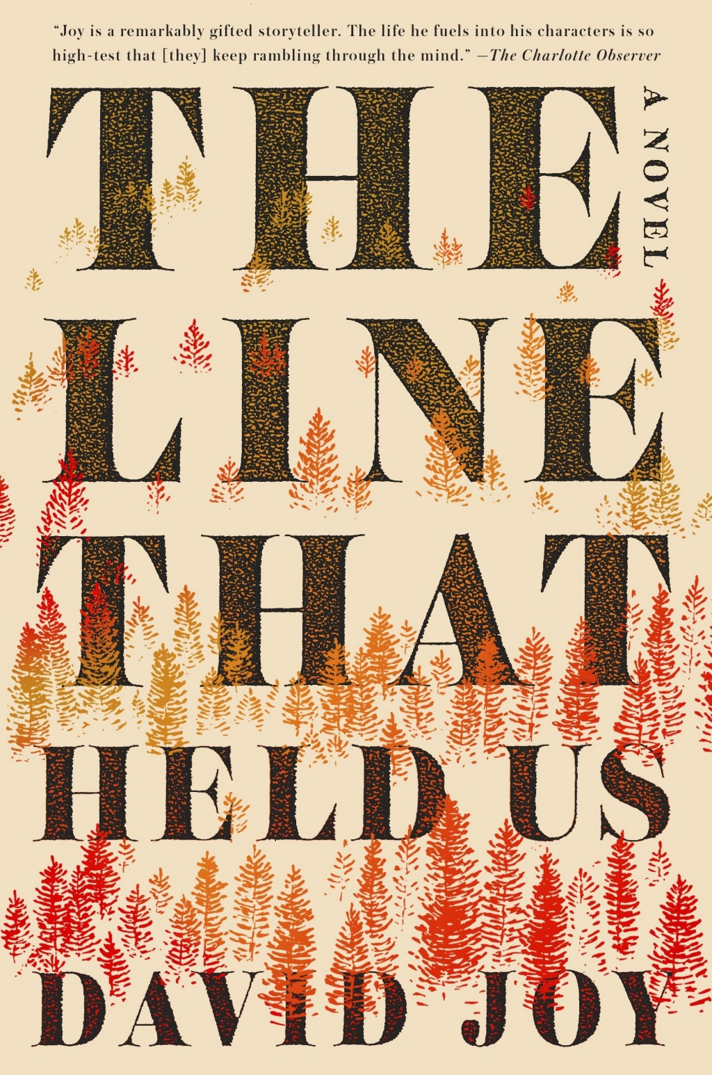 """This cover image released by G. P. Putnam's Sons shows """"The Line That Held Us,"""" a novel by David Joy. (G. P. Putnam's Sons via AP)"""