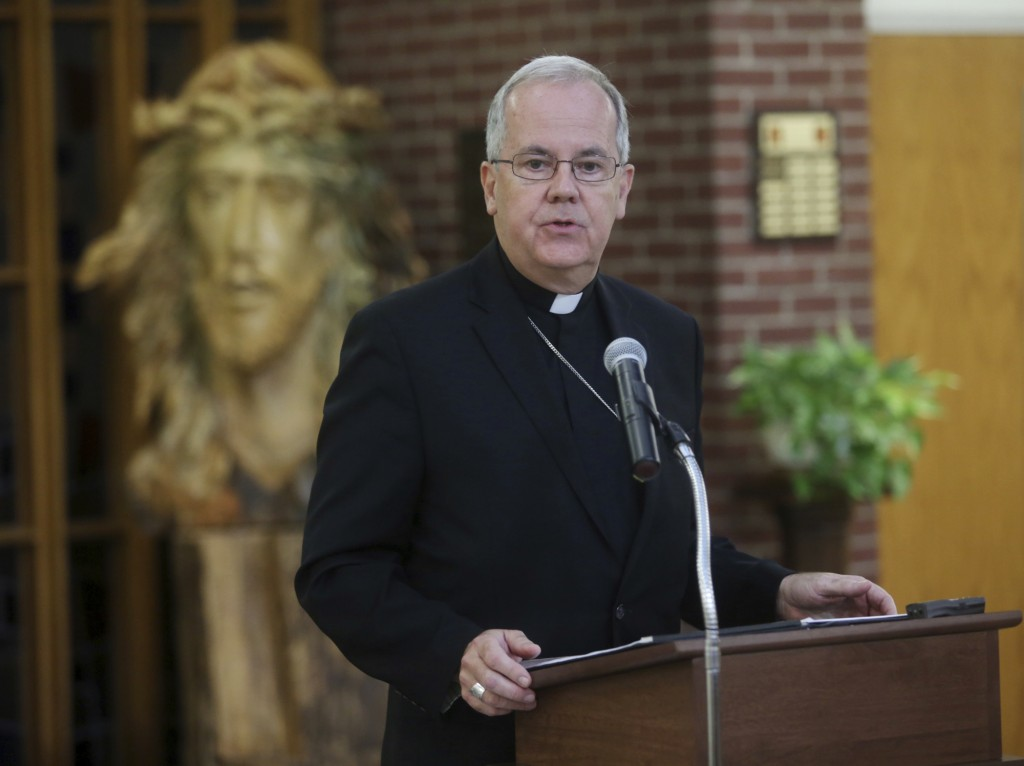 The Most Rev. Joseph C. Bambera, Bishop of the Diocese of Scranton, discusses the release of the 40th statewide investigating grand jury clergy sex ab...