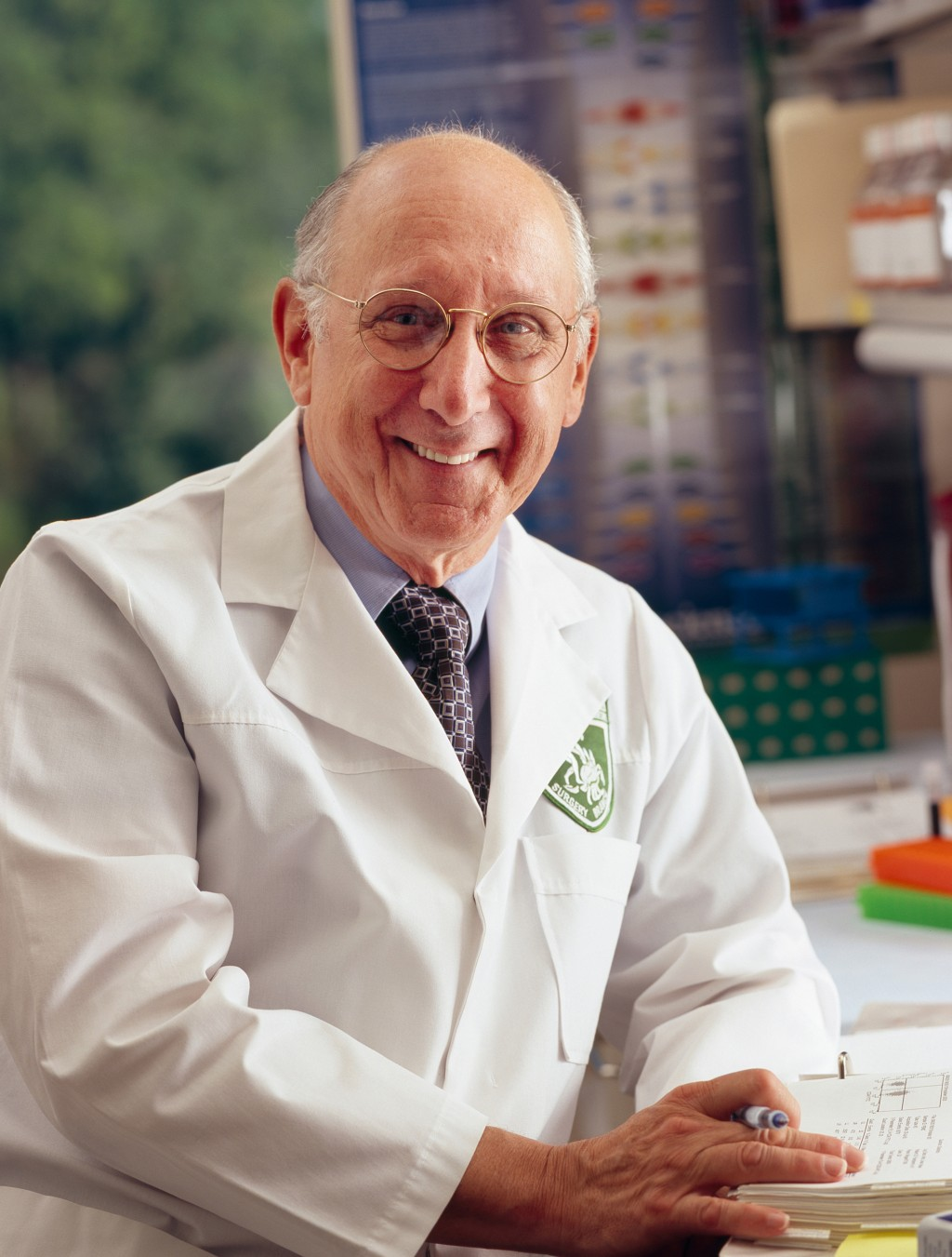 This undated photo provided by the National Cancer Institute shows Dr. Steven A. Rosenberg, M.D., Ph.D., winner of the 2018 Albany Medical Center's Pr...