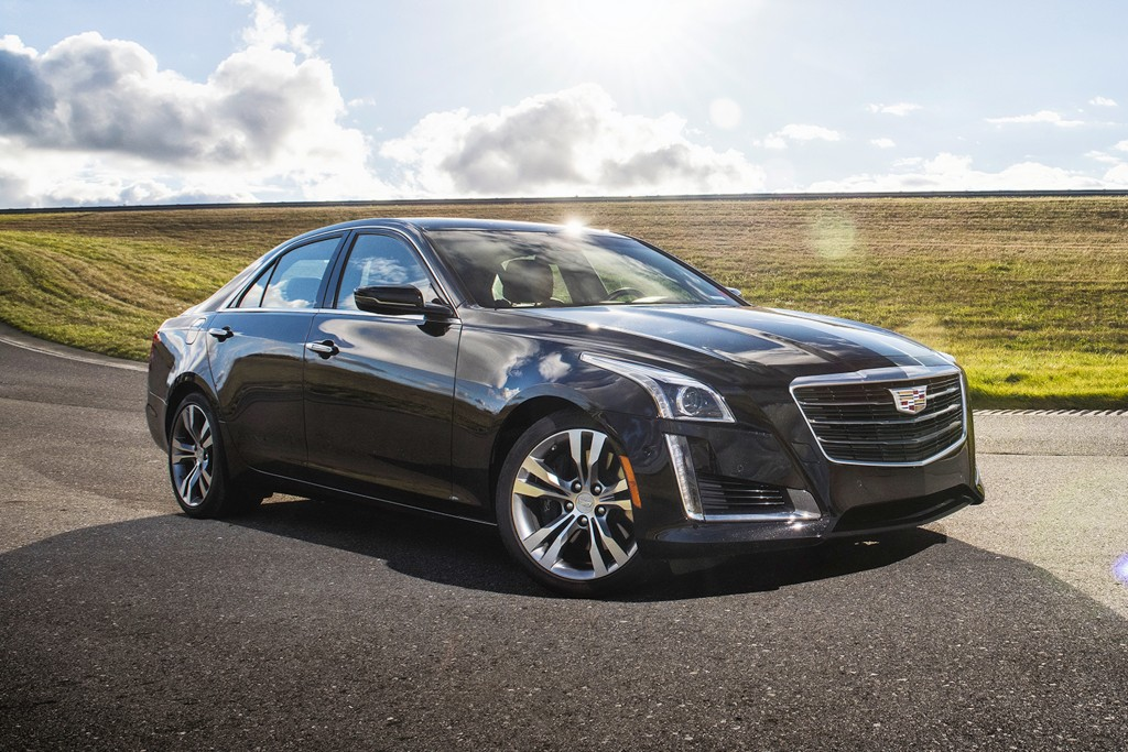 This undated photo provided by Cadillac shows the 2017 CTS. With strong acceleration, excellent handling and an attractive cabin, the Cadillac CTS has...