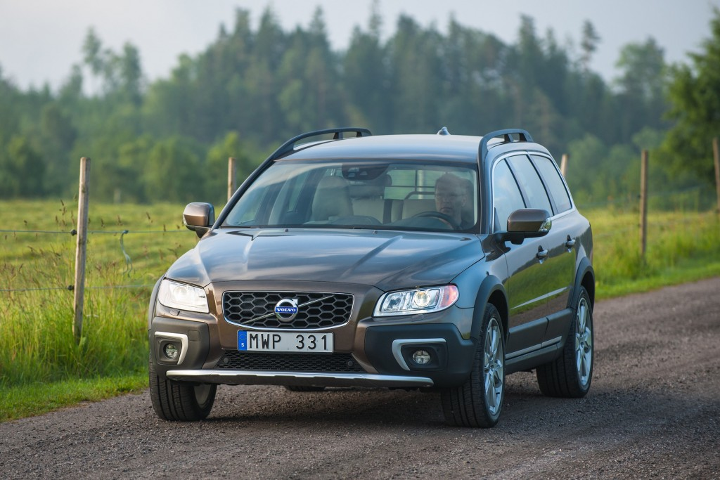 This undated photo provided by Volvo shows the 2016 XC70. To make the versatile XC70, Volvo took its practical and comfortable V70 wagon, raised its r...