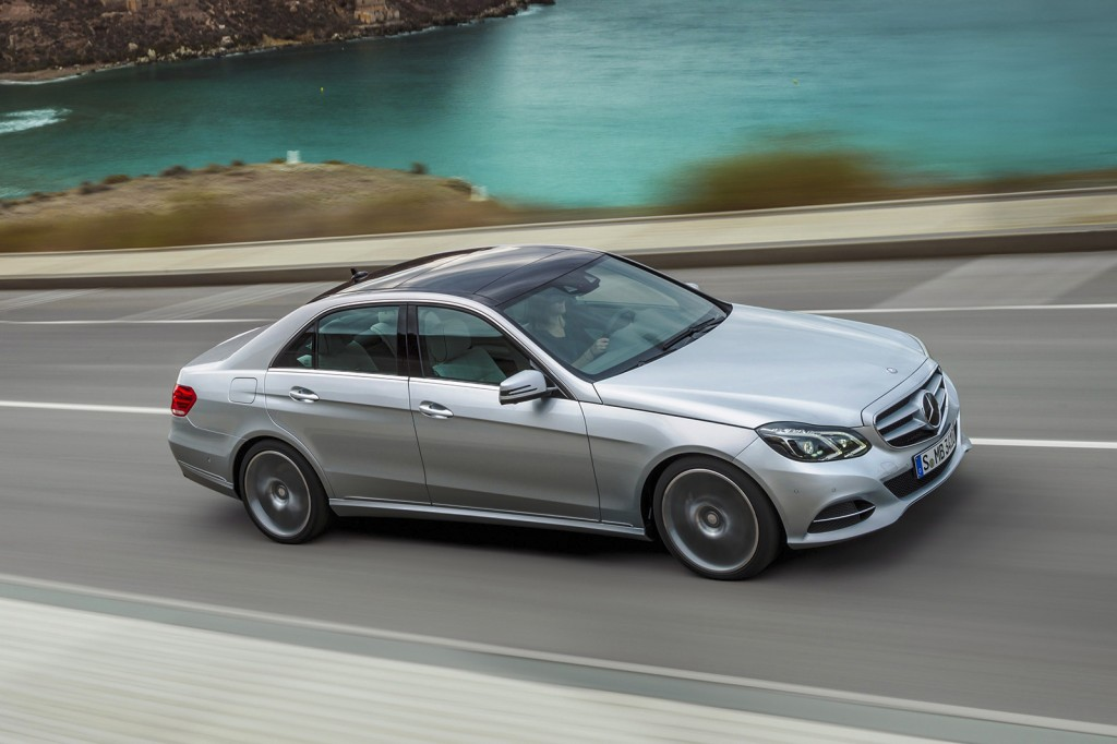 This undated photo provided by Mercedes-Benz shows the 2016 E-Class sedan. Few sedans exemplify a proper luxury sedan better than the Mercedes-Benz E-...