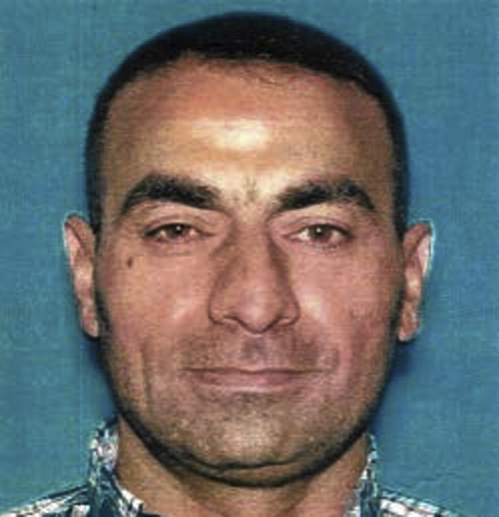 This undated photo provided by the U.S. Attorney's Office shows Omar Abdulsattar Ameen. The refugee from Iraq was arrested Wednesday, Aug. 15, 2018, i...