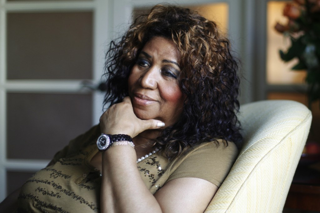 FILE - In this July 26, 2010 file photo Aretha Franklin poses for a portrait in Philadelphia. On Thursday, Aug. 16, 2018, Franklin died from pancreati...