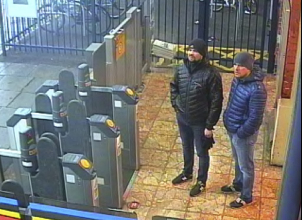 Russian Federation  identifies 2 suspects in Skripal poisoning case - Putin