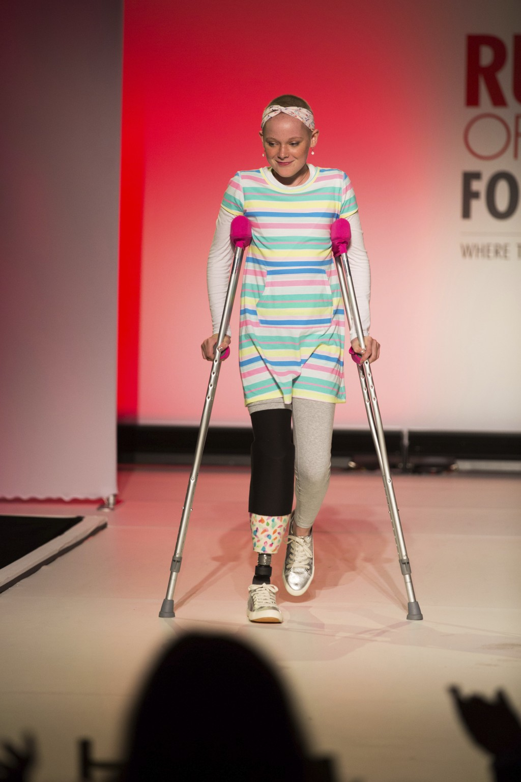 The Runway of Dreams collection is modeled Wednesday, Sept. 5, 2018, during Fashion Week in New York. The runway show featured models with disabilitie...