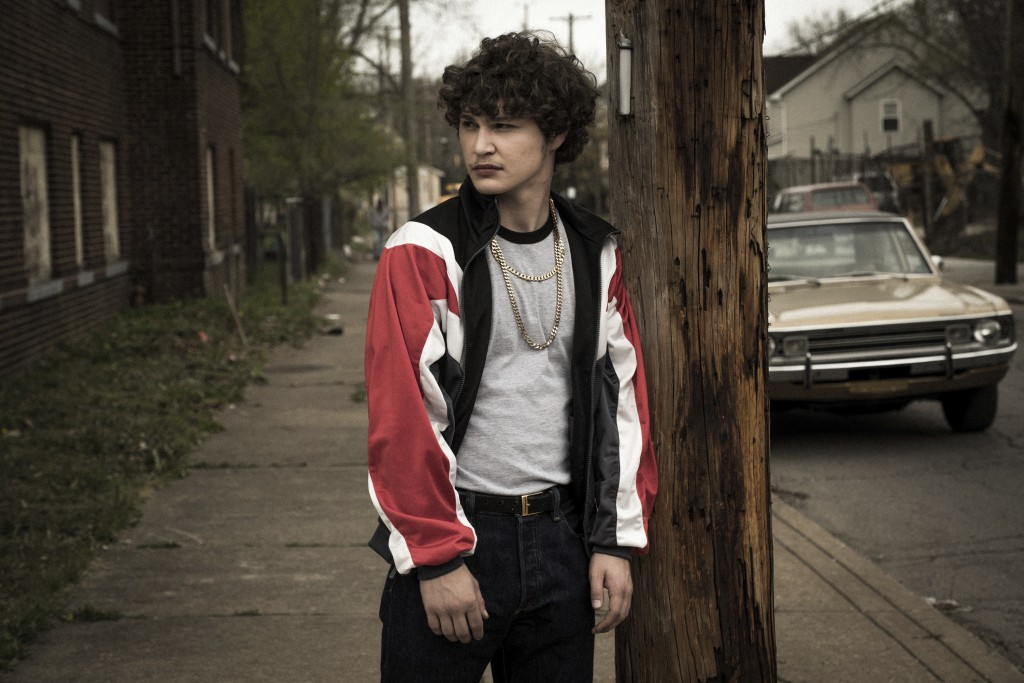 "This image released by Sony Pictures shows Richie Merritt in a scene from ""White Boy Rick."" (Scott Garfield/Sony/Columbia Pictures and Studio 8 via AP"