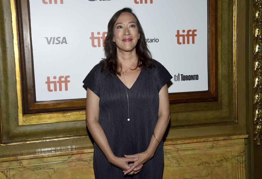 "Director Karyn Kusama attends the premiere for ""Destroyer"" on day 5 of the Toronto International Film Festival at the Winter Garden Theatre on Monday,"