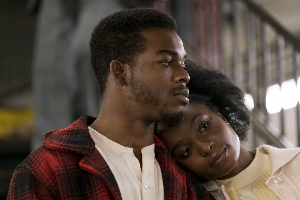 "This image released by Annapurna Pictures shows Stephan James, left, and KiKi Layne in a scene from ""If Beale Street Could Talk."" (Tatum Mangus/Annapu"