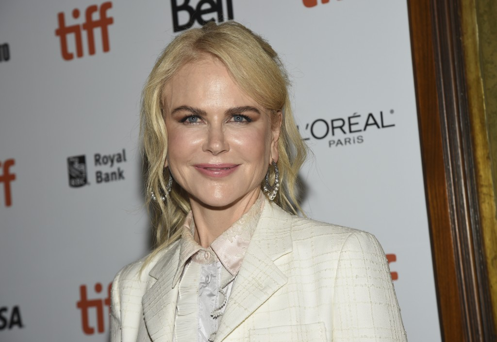 "Nicole Kidman attends the premiere for ""Destroyer"" on day 5 of the Toronto International Film Festival at the Winter Garden Theatre on Monday, Sept. 1"