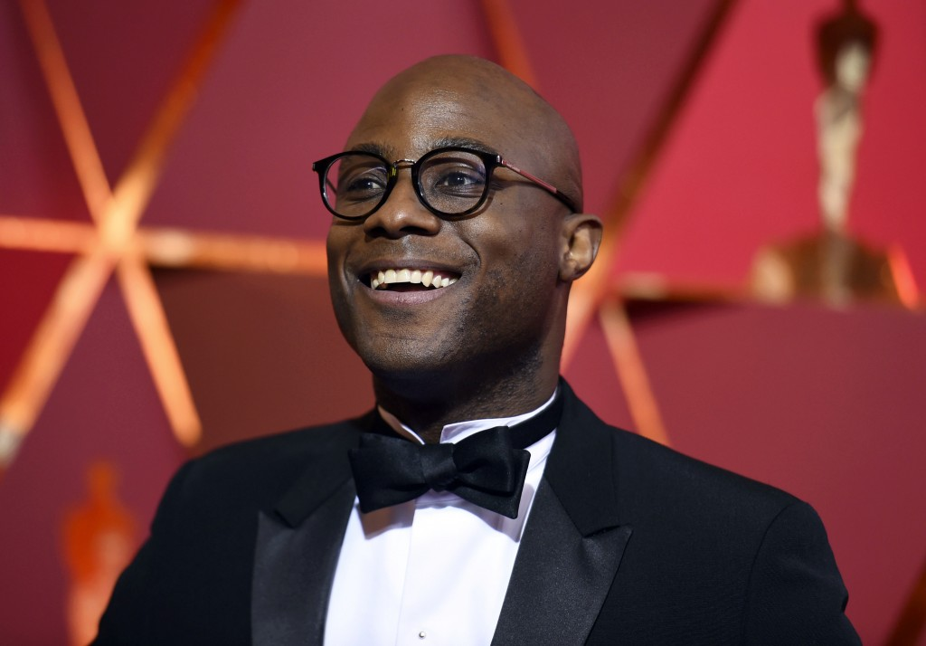FILE - In this Feb. 26, 2017 file photo, director Barry Jenkins arrives at the Oscars in Los Angeles. Jenkins has unveiled the teaser trailer for his