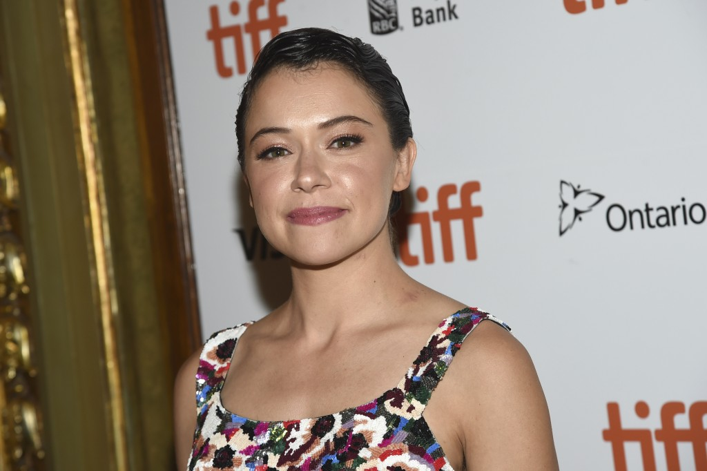 "Tatiana Maslany attends the premiere for ""Destroyer"" on day 5 of the Toronto International Film Festival at the Winter Garden Theatre on Monday, Sept."