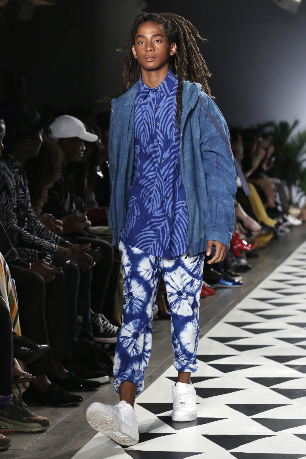 The Studio 189 spring 2019 collection is modeled during Fashion Week in New York, Monday, Sept. 10, 2018. (AP Photo/Richard Drew)