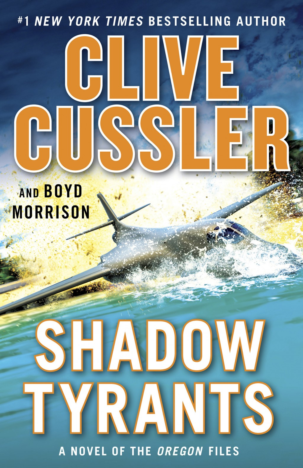 "This cover image released by G. P. Putnam's Sons shows ""Shadow Tyrants,"" a novel by Clive Cussler and Boyd Morrison. (G. P. Putnam's Sons via AP)"