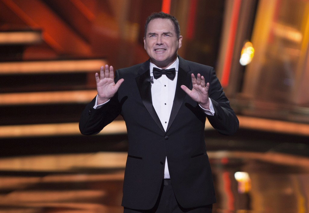 """FILE - In this March 13, 2016, file photo, Norm Macdonald begins as host of the Canadian Screen Awards in Toronto. """"The Tonight Show canceled an appea"""