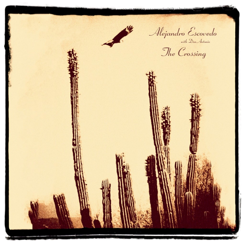 "This cover image released by Yep Roc Records shows ""The Crossing,"" a release by Alejandro Escovedo. (Yep Roc Records via AP)"