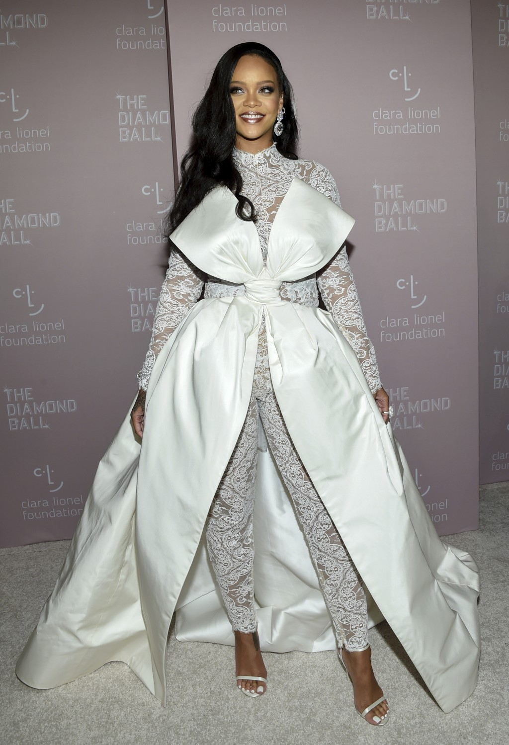 Singer Rihanna attends the 4th annual Diamond Ball at Cipriani Wall Street on Thursday, Sept. 13, 2018, in New York. (Photo by Evan Agostini/Invision/...
