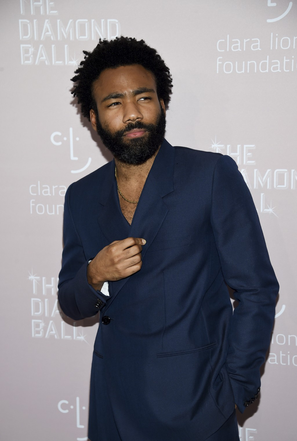 Actor/rapper Donald Glover aka Childish Gambino attends the 4th annual Diamond Ball at Cipriani Wall Street on Thursday, Sept. 13, 2018, in New York.