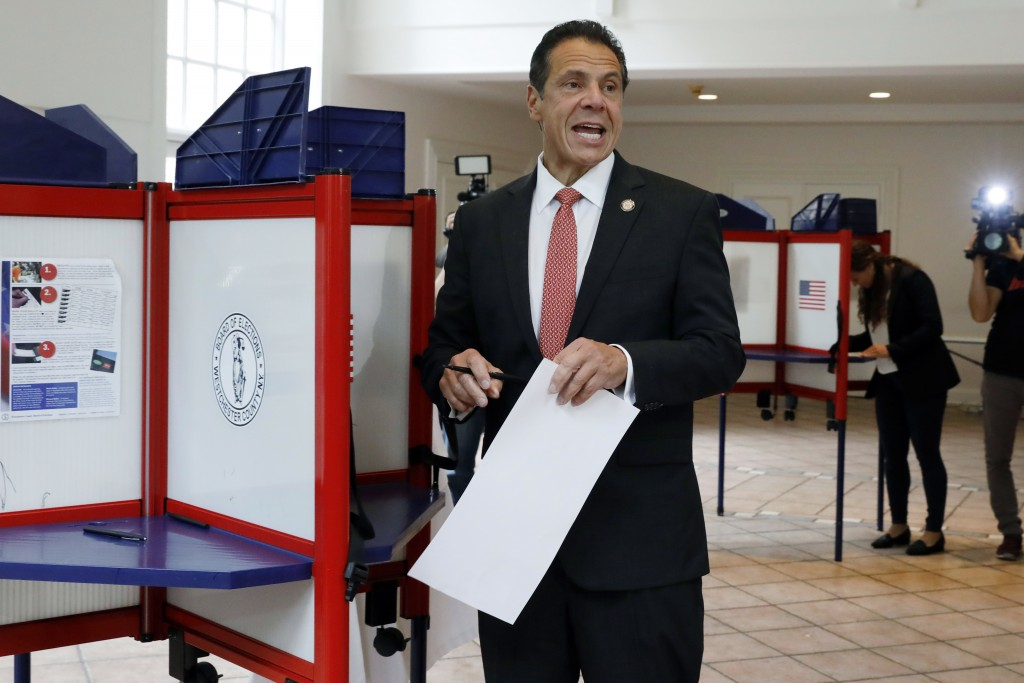Nixon hopes for big upset in primary battle with Cuomo