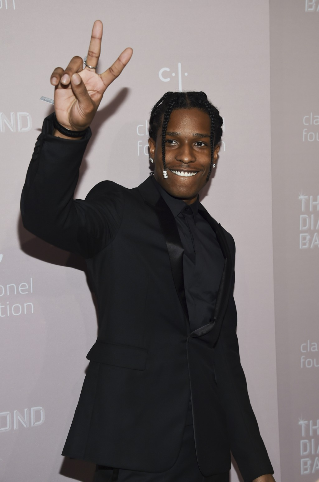 A$AP Rocky attends the 4th annual Diamond Ball at Cipriani Wall Street on Thursday, Sept. 13, 2018, in New York. (Photo by Evan Agostini/Invision/AP)