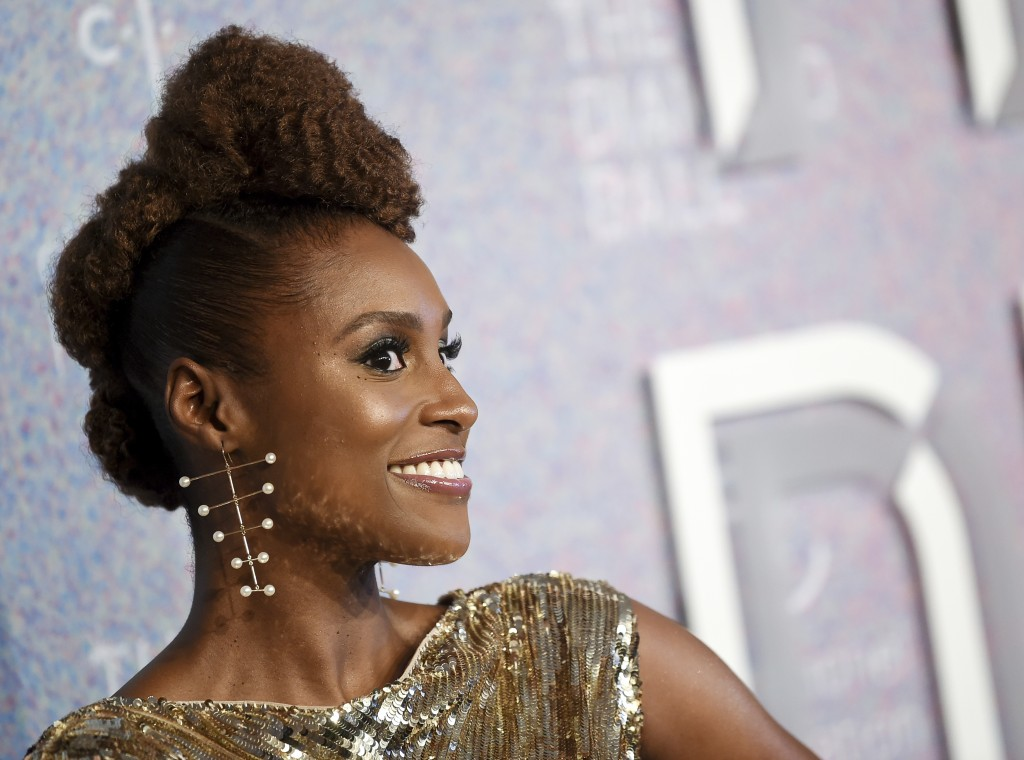 Actress Issa Rae attends the 4th annual Diamond Ball at Cipriani Wall Street on Thursday, Sept. 13, 2018, in New York. (Photo by Evan Agostini/Invisio