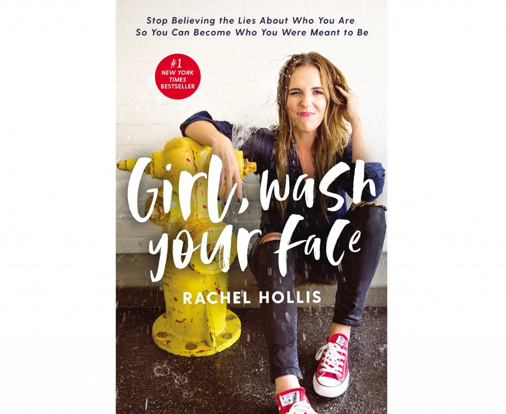 "This cover image released by Thomas Nelson shows ""Girl, Wash Your Face: Stop Believing the Lies About Who You Are so You Can Become Who You Were Meant"