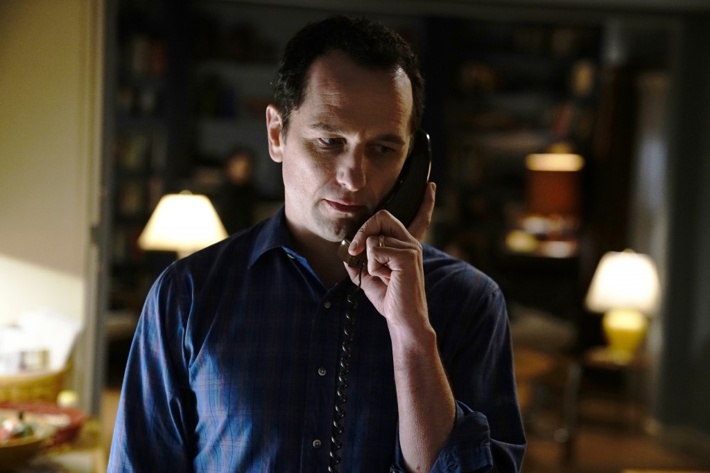 "This image released by FX shows Matthew Rhys in a scene from ""The Americans."" Rhys is nominated for an Emmy for outstanding lead actor in a drama seri..."
