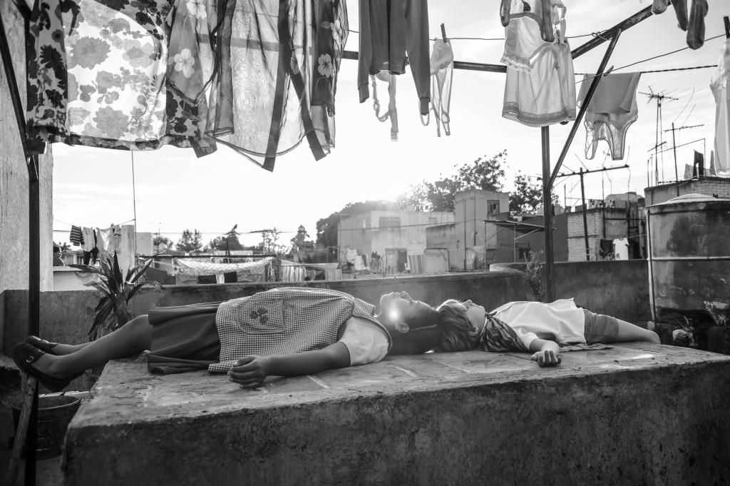 """This image released by Netflix shows a scene from the film """"Roma."""" The Mexican film academy announced Friday that it has chosen """"Roma"""", by Academy Awa"""