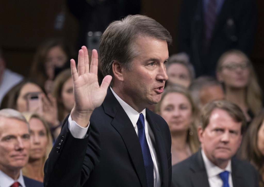 Trump questions Kavanaugh's accuser, says opponents want to 'destroy' nominee