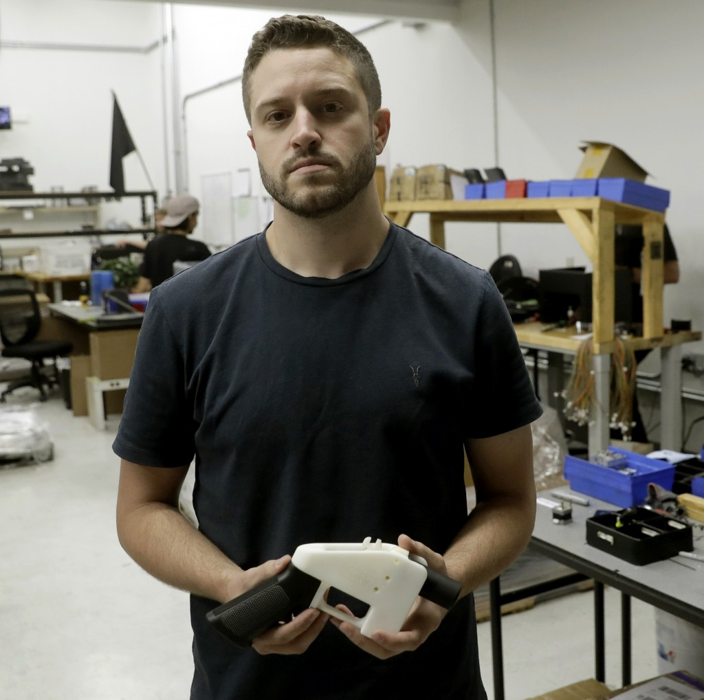 Texan who published 3-D guns plans jailed on sex assault charge