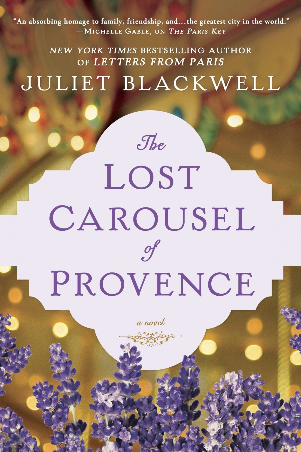 """This cover image released by Berkley shows """"The Lost Carousel of Provence,"""" a novel by Juliet Blackwell. (Berkley via AP)"""
