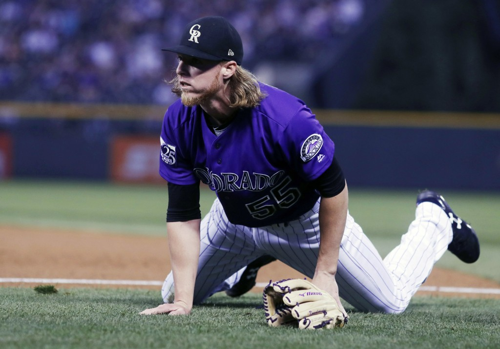 Rockies' win streak snapped in loss to Washington