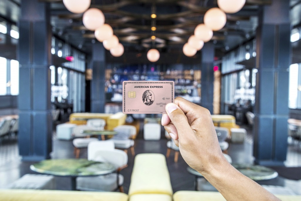 This undated product image provided by American Express shows the new Gold Card, which is getting a major upgrade this fall. The card will come in sta...