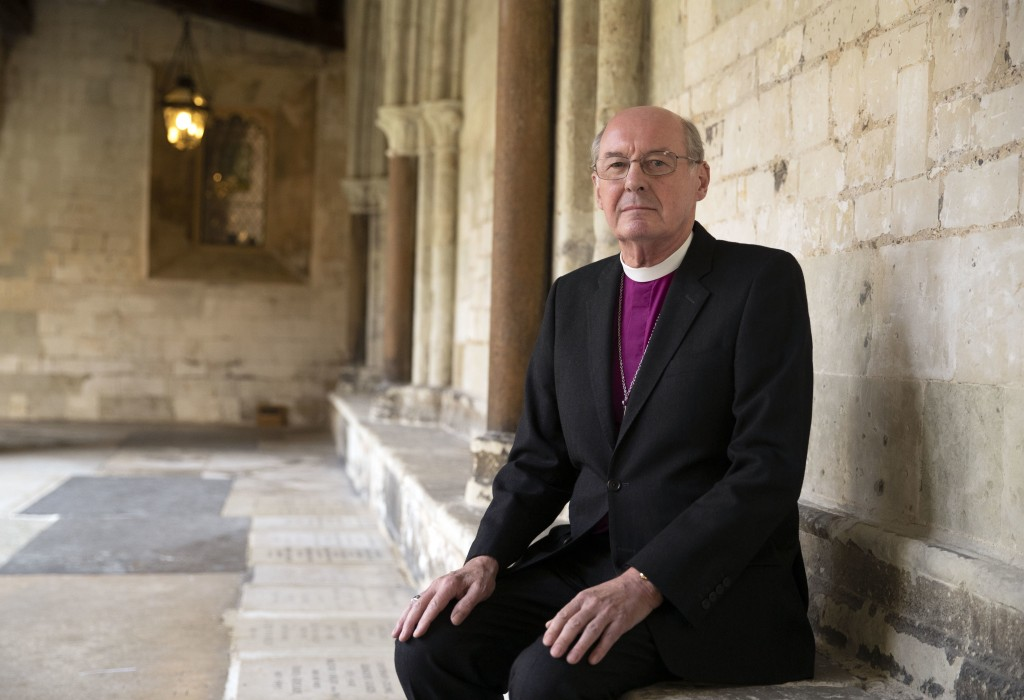 The Rt Revd David Conner, Dean of Windsor, on Thursday Oct. 11, 2018, who will conduct the wedding of Britain's Princess Eugenie and Jack Brooksbank o