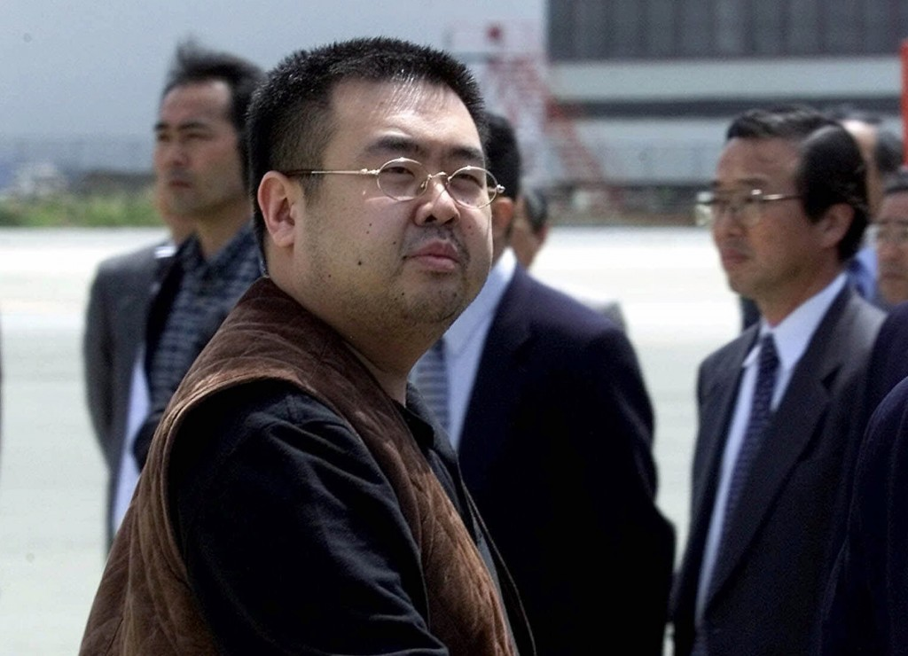 FILE - In this May 4, 2001 file photo, Kim Jong Nam, the eldest son of North Korean leader Kim Jong Il, prepares to board a plane to Beijing at Narita